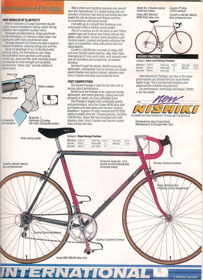 1986 Nishiki International